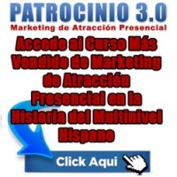 Patrocinio 3.0, Tu Solución en Multinivel
