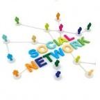 Personas unidas por el social media